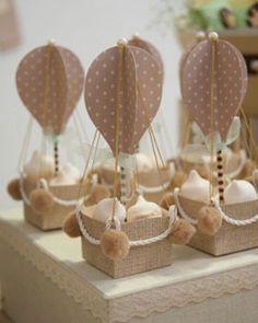 WEBSTA @ catalogodeideias - Que amor esses balões com  suspiros  Fonte Artesanato e Ponto.#catalogodeideias #scrapfesta #inspiration #lembranças #babykids #maedemenina #maedemenino