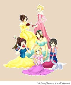 But we all know that Levi is the real princess.