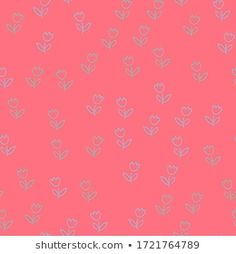 Find Seamless Pattern Tulip Flower Simple Vector stock images in HD and millions of other royalty-free stock photos, illustrations and vectors in the Shutterstock collection. Tulips Flowers, Seamless Background, Royalty Free Stock Photos, Doodles, Simple, Illustration, Artist, Pattern, Pink