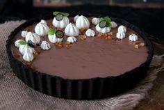 no-bake chokoladetærte med oreo