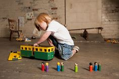 Melbourne tram toy