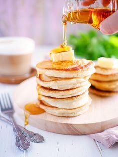 Fluffiga amerikanska pannkakor   My Kitchen Stories