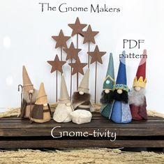 GNOME-TIVITY PDF Sewing Pattern Nativity Gnome Pattern Gnome | Etsy