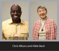 Chris Mburu & Hilde Back, two beautiful souls! Watch the Documentary, 'A Small Act'.