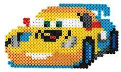 Hama 7944 - Original Bügelperlen - Geschenkpackung Disney Cars, circa 4000 Perlen, 2 Stiftplatten und Zubehör