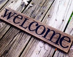 Welcome - Black