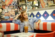 #retro #diner #riverdale #vibes #photoshoot #modeling