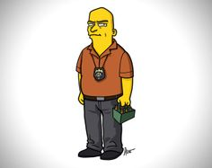 Simpsonized Breaking Bad