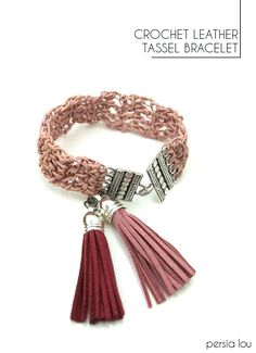 This post was originally created by me for Darice. It also contains affiliate links for your convenience.   I don't do a lot of jewelry projects and tutorials, so this post is a bit outside of my wheelhouse, but I'm always looking for new materials to crochet, and when I saw this thin leather cording,...Read More »