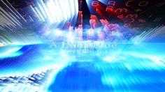 Futuristic Digital Tech Display 10762