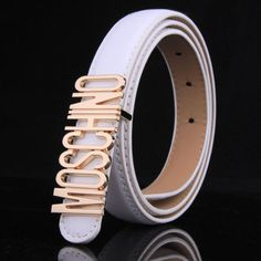 8a24b18fd96 Leather Belts, Patent Leather, Moschino Belt, Outlet Store, Logos, Bag  Sale, Shoes Outlet, Iphone Cases, Backpacks