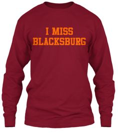 """I Miss Blacksburg"" Exclusive Tee"