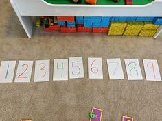Teach. Play. Love.: Number Grab & Run