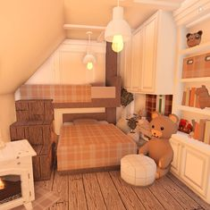 Two Story House Design, Tiny House Layout, Unique House Design, House Layouts, Tiny House Bedroom, Bedroom House Plans, Room Ideas Bedroom, Room Decor, Home Building Design