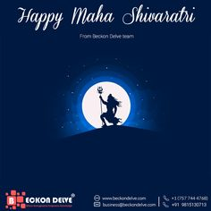 Good Afternoon Everyone!! Wishing u all a very Happy Mahashivaratri From Beckon Delove Team !!