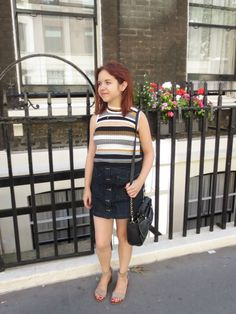 Casual in London   An OOTD only on Five Foot and Fabulous!