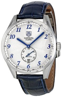 Amazon.com: Tag Heuer Men's WAS2111.FC6293 Carrera White Dial Dress Watch: Tag Heuer: Watches