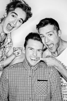 Tom, Danny and Harry by Tom Leishman - Twitter / Team_Judd_McFly