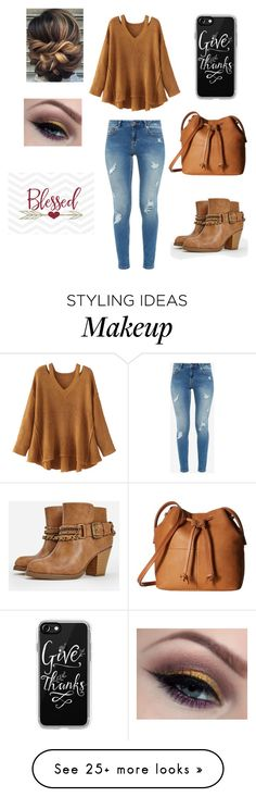 """""""Happy thanksgiving!❤️"""" by kaylee73 on Polyvore featuring Ted Baker, JustFab, WithChic, Cricut, Casetify and ECCO"""