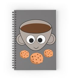 A #funny spiral #notebook for #coffeepersons #coffee #caffeine  #promo: buy 2 and get 15% off