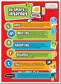 childnet international: Be smart on the Internet: Safe - Meeting - Accepting - Reliable - Tell