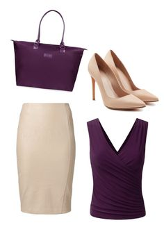 """""""Untitled #4581"""" by ania18018970 on Polyvore featuring Kardashian Kollection, Alexander McQueen and Lipault"""