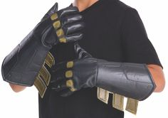 Dawn Of Justice Batman Costume Gauntlets Child One Size