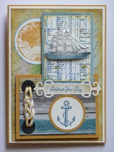 Open Sea Birthday by LilyLynn - Cards and Paper Crafts at Splitcoaststampers