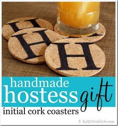 Everyone uses and needs coaster They make great hostess or teacher gifts. They are inexpensive and fast to make | In My Own Style