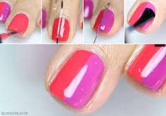 Resultado de imagen para imagenes de uñas decoradas sencillas y faciles de hacer