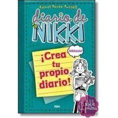 En este libro a nikki se le pierde su diario y intenta saber donde esta. También puedes escribir tu también en divertidas actividades y al final del todo puedes escribir como si fuera tu propio diario. A mi me encanta y ati? LEELO :)!!