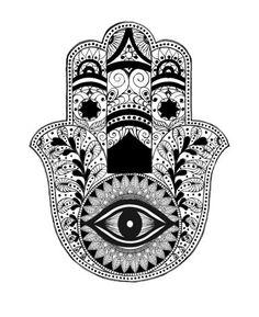 Miss TLV - Unique Hamsa & Evil Eye Jewlery — Hamsa tattoo