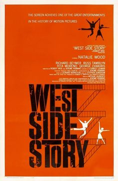 Directed by Jerome Robbins, Robert Wise. With Natalie Wood, George Chakiris, Richard Beymer, Russ Tamblyn. Two youngsters… West Side Story Movie, West Side Story 1961, Saul Bass Posters, Movie Posters, Best Posters, Movie Titles, U2 Poster, Richard Beymer, Russ Tamblyn