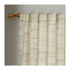 Mid-Century Cotton Canvas Etched Grid Curtain Slate ($29) via Polyvore featuring home, home decor, window treatments, curtains, cotton canvas curtains, dot curtains, canvas curtains, mid century curtains and window drapery