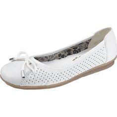RIEKER Ballerina shoes white