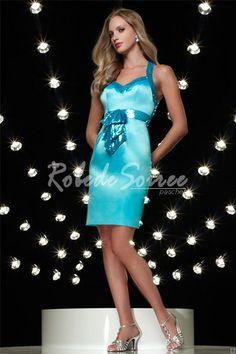 Encolure bretelles cocktail Blue Dress Sweetheart Décolleté Sapp [Robe de Cocktail Courte-112] - €110.00 : Robe de Soirée Pas Cher,Robe de Cocktail Pas Cher,Robe de Mariage,Robe de Soirée Cocktail.