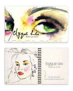 Cards for Makeup Artist