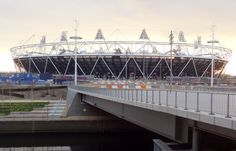 Everything is coming into place at the Olympic stadium.