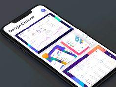 Design Critique - Platform to receive real feedbac