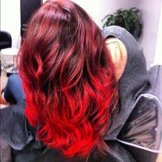 Red Ombre. Yeahhhhhhh!