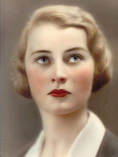 Color portrait, 1930