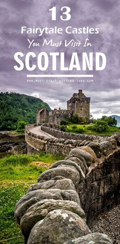 Discover 13 Fairytale Castles you should include on your Scotland itinerary. Discover 13 Fairytale Castles you should include on your Scotland itinerary. Romantic Vacations, Romantic Getaway, Romantic Travel, Sweden Travel, Asia Travel, Beach Travel, Inverness, Us Travel Destinations, Places To Travel