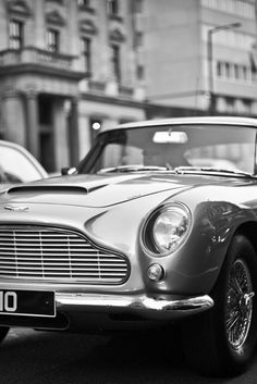 Aston Martin DB5 (1964) Maintenance/restoration of old/vintage vehicles: the material for new cogs/casters/gears/pads could be cast polyamide which I (Cast polyamide) can produce. My contact: tatjana.alic@windowslive.com