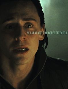 So I am no more than another stolen relic. #thor