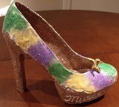 King Cake shoe (Confessions of a glitter addict: 2013 Shoes - The Complete Set)