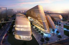Beijing, China – Xingchuang Development Co Ltd (mixed-use architecture)