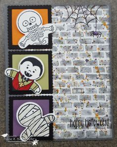 Stampin' Up! Cookie Cutter Halloween