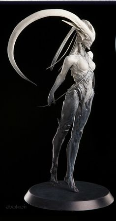 Digital sculpture printed for garage kit as well as bronze produced for Sir Richard Taylor. Fantasy Demon, Fantasy Monster, Fantasy Kunst, Monster Art, Dark Fantasy Art, Dark Art, Arte Horror, Horror Art, Art Bizarre