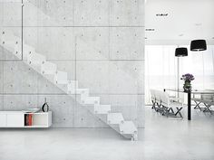 Aira, the floating staircase which combines minimalism and robustness  archiexpo.com
