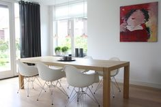 My Houzz: Contemporary Clasic in the Netherlands - contemporary - dining room - amsterdam - by Holly Marder
